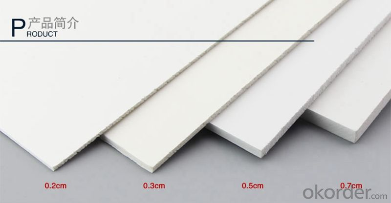 PVC Rigid Foam Board Sheet Wholesale Price for Exhibition Stands