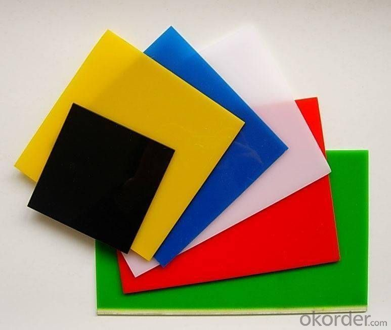 High quality100% Virgin material multicolor acrylic sheet