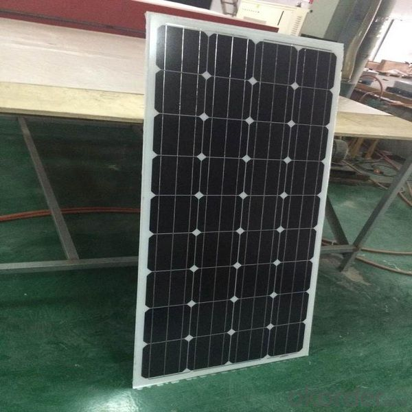 90W Poly Solar Panel with High Efficiency Made in China