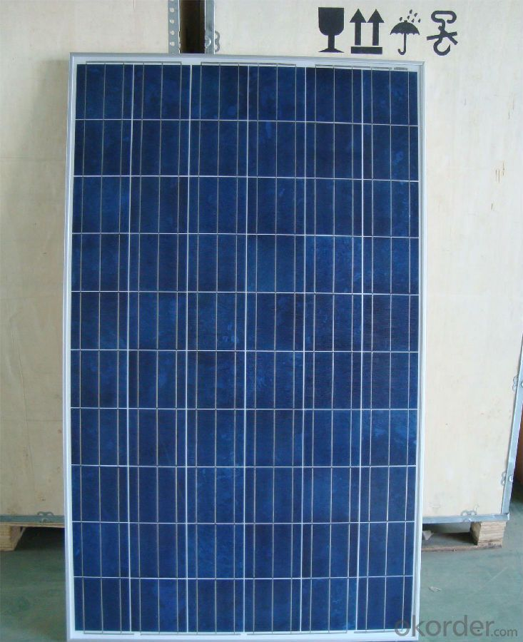 190W Poly Solar Panel with High Efficiency Made in China