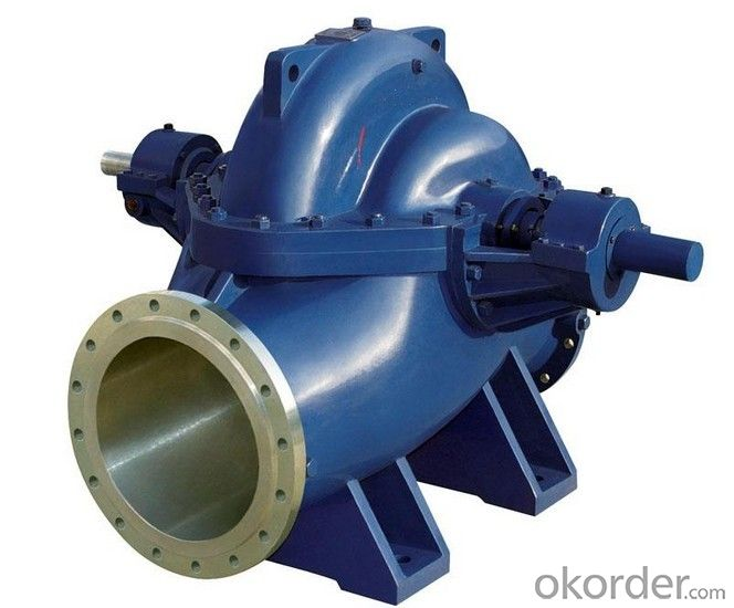Single Stage Double Suction Split Case Water Pump
