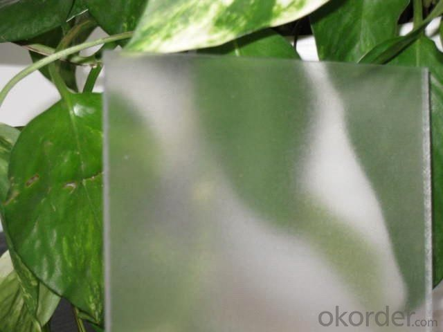 100% Virgin material polycarbonate frosted sheet for partition
