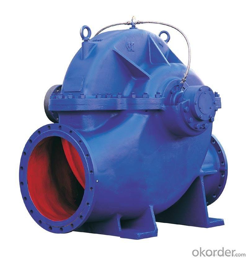Single Stage Double Suction Split Case Pump