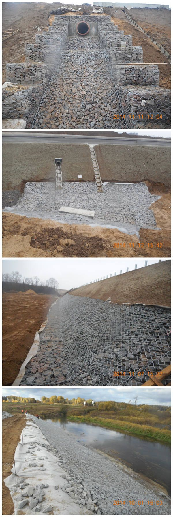 Expert Gabion Wall Construction Supplier From China (GBW)