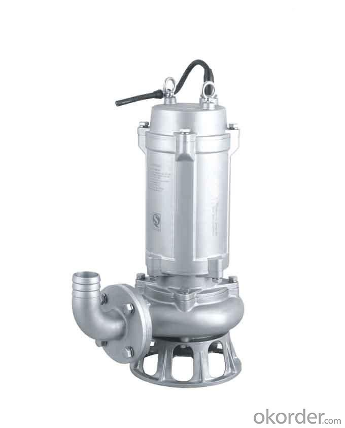 Sewage Submersible Pump With Stainless Steel