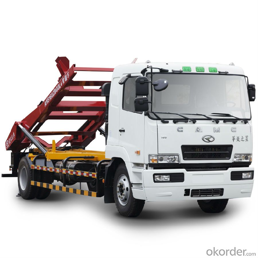 CAMC Heavy Duty Truck with the Truck series Hanma H6 Back Tanker