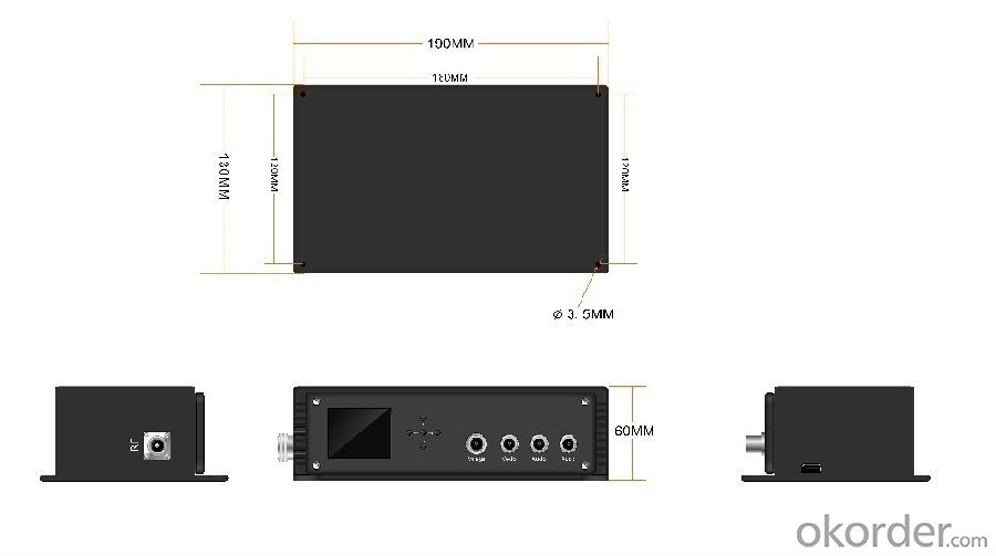 Cofdm Wireless Video Transmitter HDMI/SDI