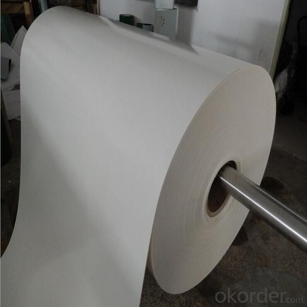 Light Duty Food Grade PVC/PU Conveyor Belt White Green