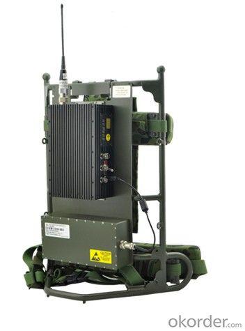 Digital Video Transmitter COFDM Military backpack Waterproof