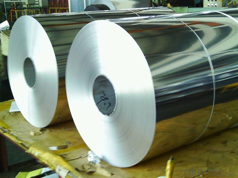 1100 5754 Mirror Cost Insulation Aluminum Roll