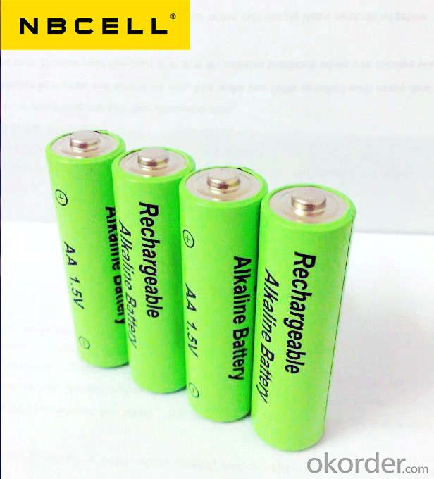 1.5V Rechargeable alkaline battery AA LR6