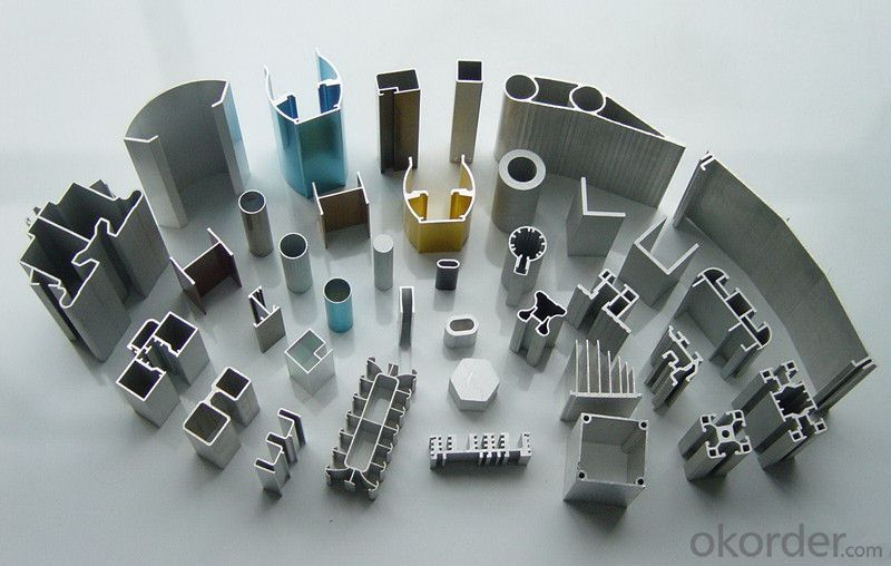 Alloy 7005 Aluminium Extrusion Profiles For Industrial Application