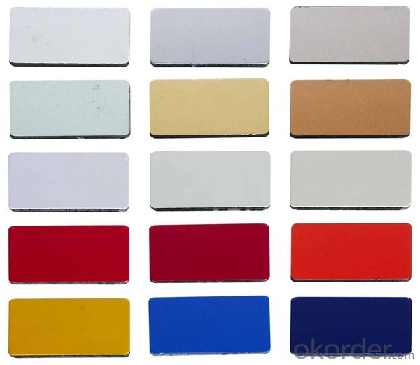 Color Coated Aluminium Sheet for Building Decoration