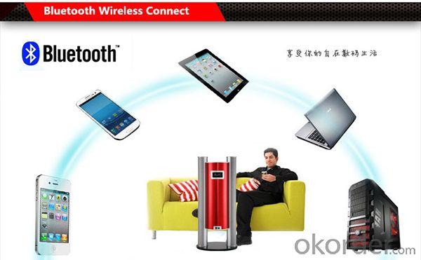 Hi-fi 2.1Ch Wireless Stereo-sound Speaker Bluetooth Speaker for Home