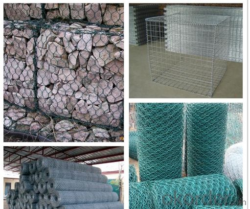 Buy galvanized and pvc coated hexagonal wire mesh gabion