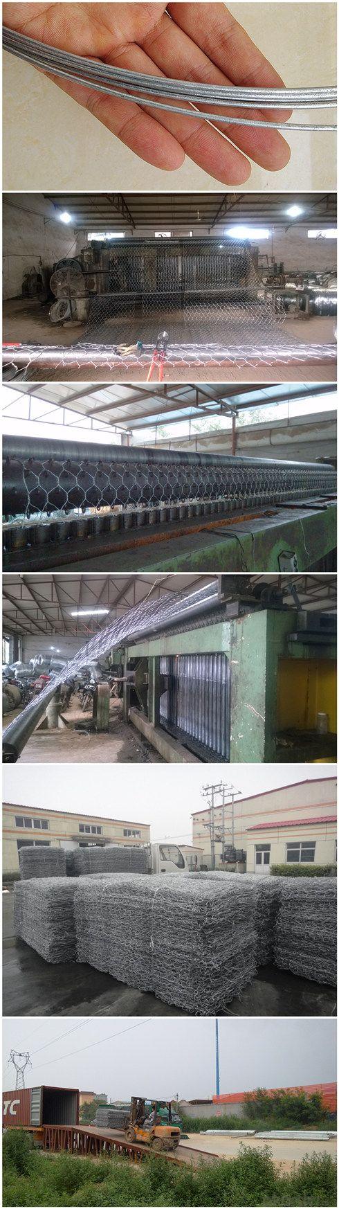 China Wholesale Galvanized Gabion Box for Civil Engineering (GB)