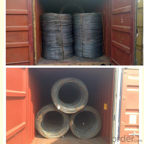 Steel Wire Rod SAE1006 hot rolled low carbon