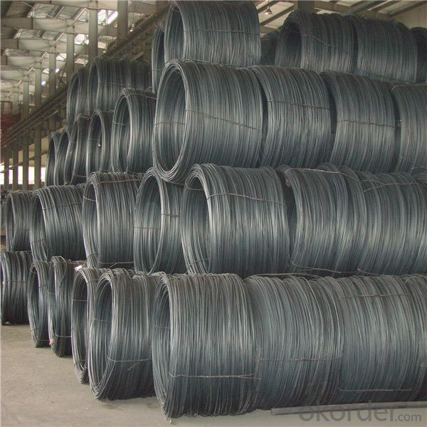 Steel wire rod  hot sale 5.5-14mm from mill directly