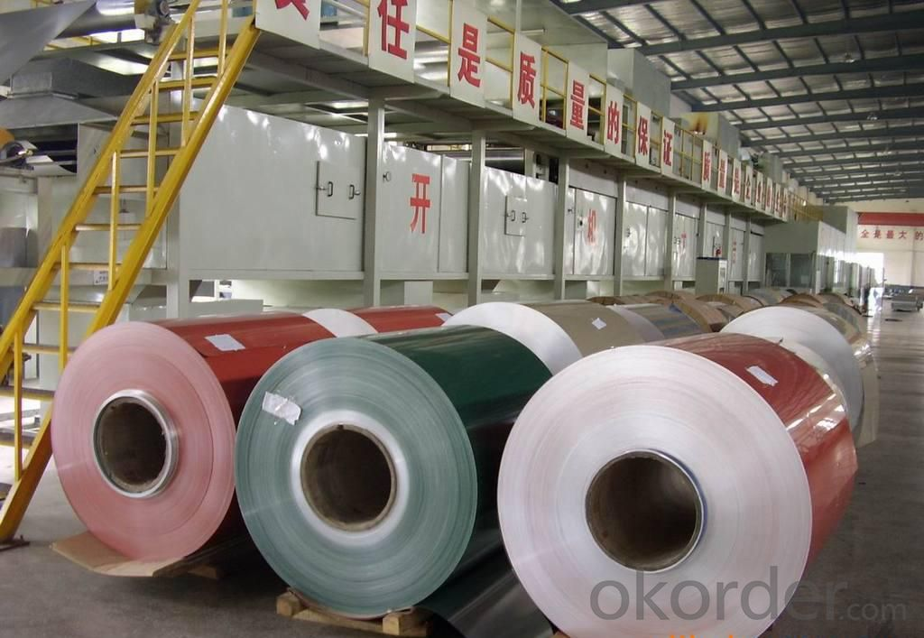 Color Coated Aluminium Coil For Wall Cladding