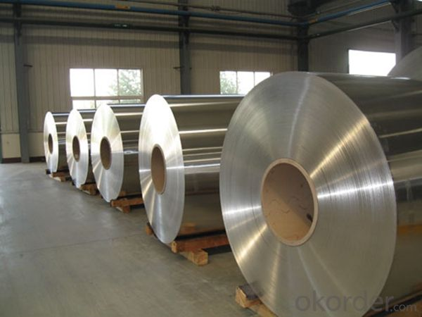 Mill Finished Aluminum Coil Alloy AA3XXX for Building Ourter Doors