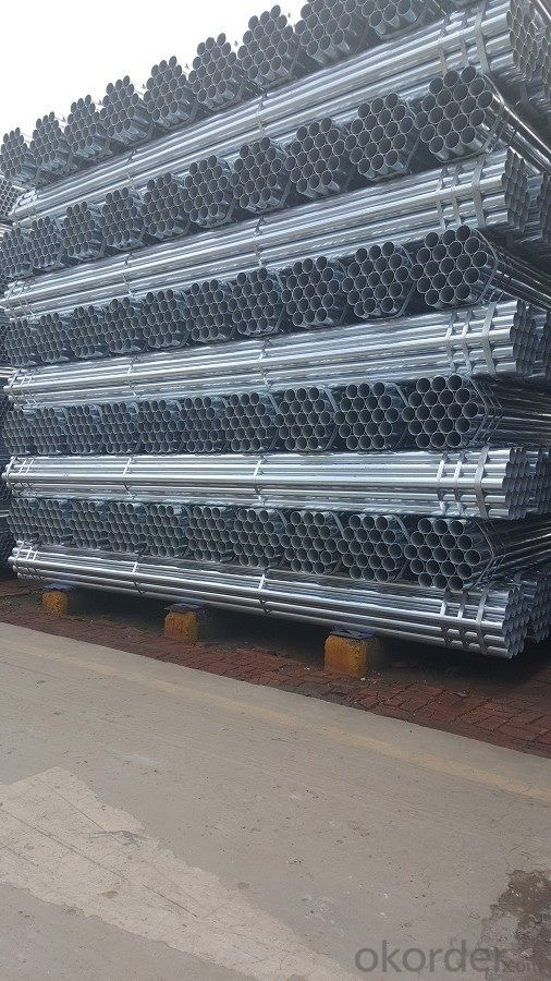 Galvanized welded steel pipe for  greenhouse