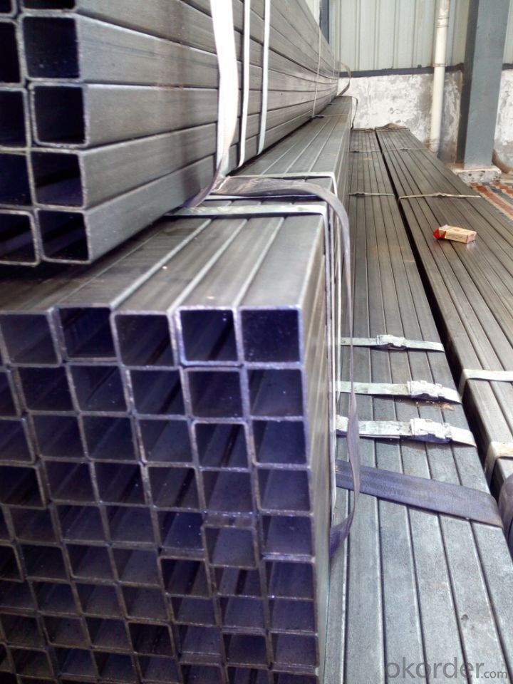 Galvanized welded steel pipe for engineering piping