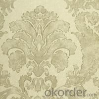 3D PVC Wallcovering Wallpaper Harga Wallpaper Plafon
