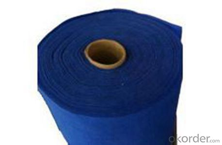Non-woven Geotextile wIith 2-6 Meters Width Short Fiber Needle-punched