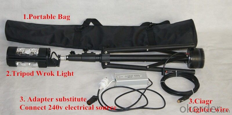 manufacture  Remote area lighting system 120W  fire rescue  AC/DC charger for industry