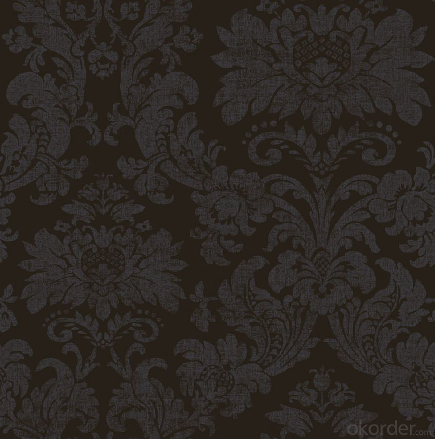 Modern Gold Grade 3 Glitter Fabric Wallpaper Made In China