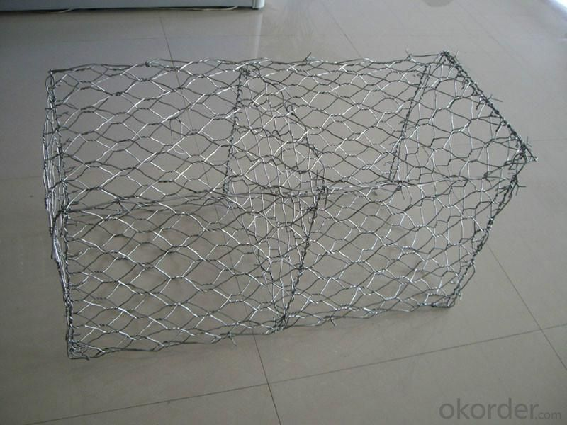 Gabion Box/ Stone Cages/ Gabion Wire Mesh for Sale Yaqi