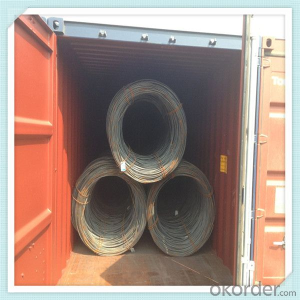 Steel sea1008 wire rod coil hot rolled from China
