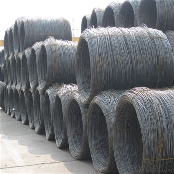 Prime hot rolled steel wire rod different diameter