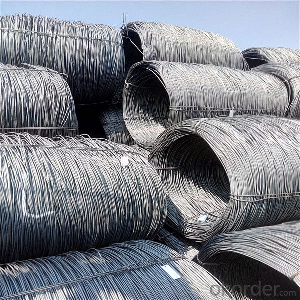 Export steel wire rod from China in different grade