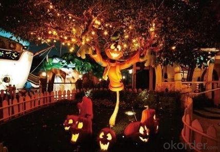 Pumpkin Light String Party Decoration Led  String  Light  UL Listed