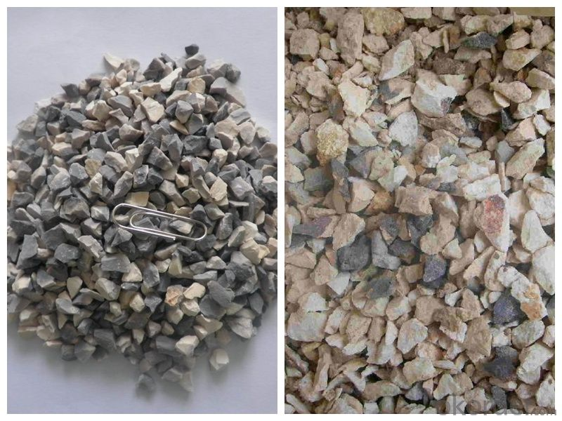Factory directly 87% al2o3 0-1mm calcined bauxite with competive price