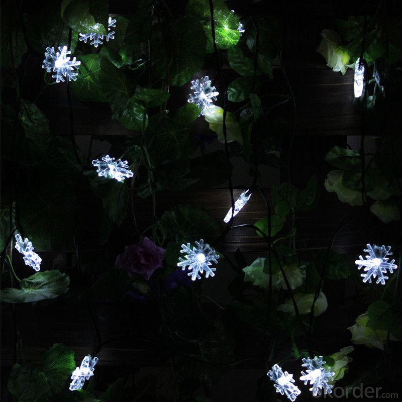 Small Bell Solar Light String Decorative Light Waterproof Hanging Outdoor Light