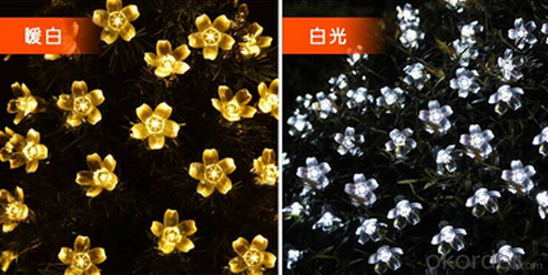 New LED Multi Color Sakura Solar String Lights Garden Party Christmas Outdoor