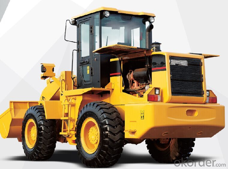 Three Ton Wheel Loader with cummins engine