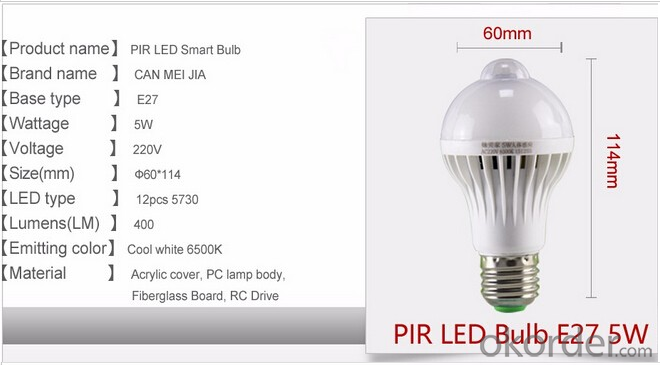 Led Bulb 9W E27 SMD 5730 Powerful Energy Led Lamp 220V
