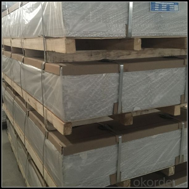 Mill Finish Aluminum Sheet for Building Curtain Wall