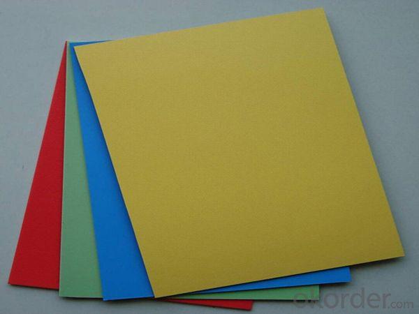 1mm - 20mm PVC Rigid Foam Board Heat Insulation High Density PVC Foam Board
