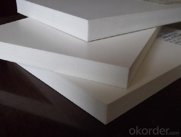2016 NEW  Foam Sheet For factory hot sale cheap and fine white 4x8' 0.5mm foam sheet pvc