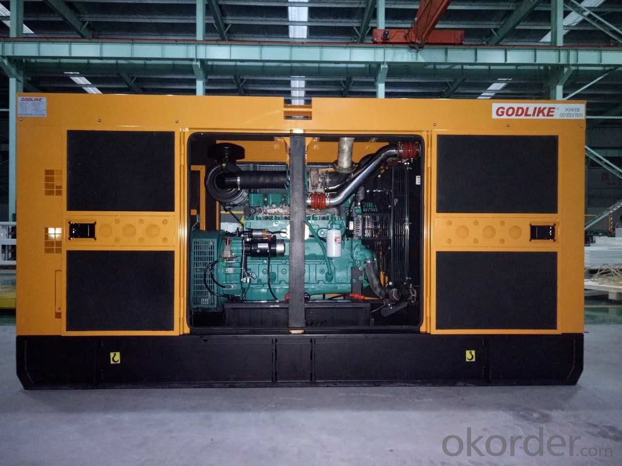 50kva/40kw  super silent Cummins generator set  with CE approved (GDC50*S)