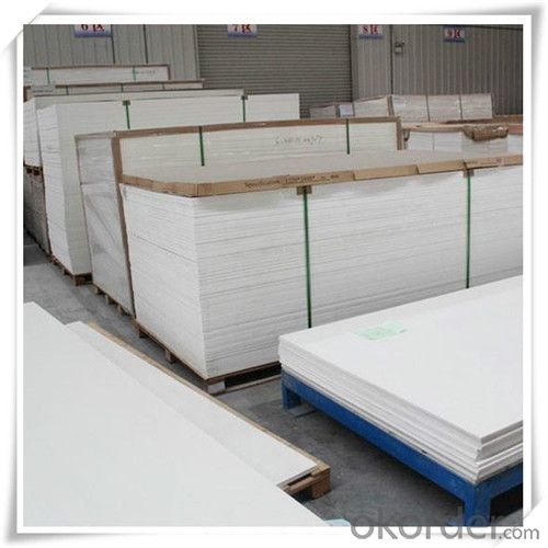 12mm white advertising materials/low density PVC Sheets