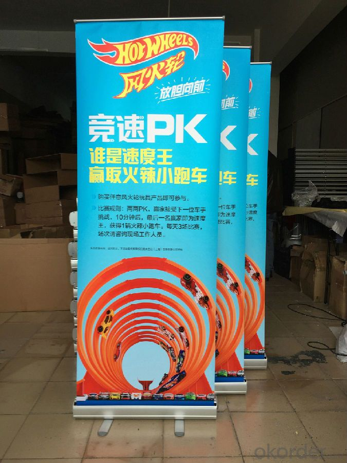 BST1-3 60*160CM roll up banner stand /pull up banner stand /roll up display stand