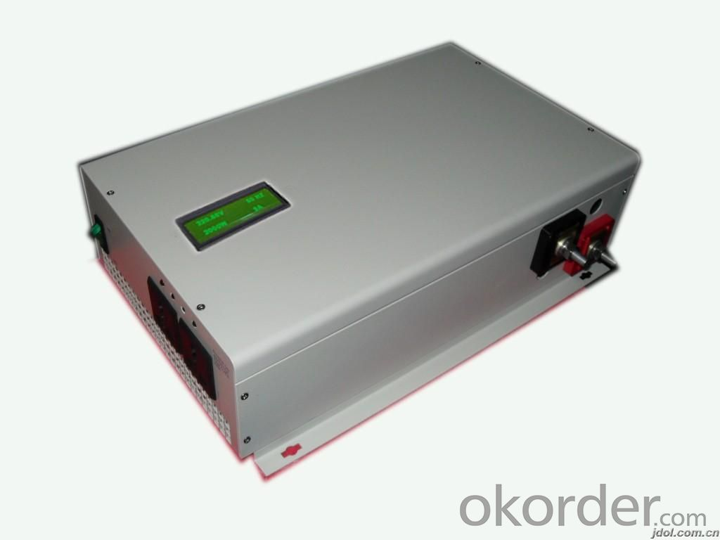 2800W Pure Sine Wave DC to AC Power Inverter with Charger