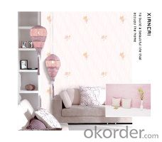 Vinyl Design Wallpaper With Best Selling For Home Decoration