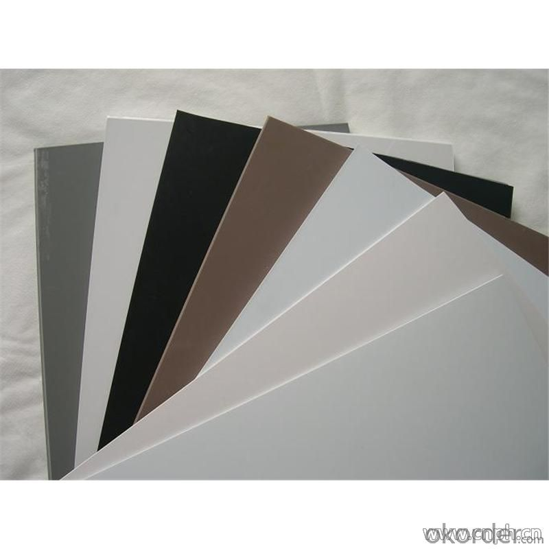 plastic foam 3mm thick sell black/white pvc foam sheet