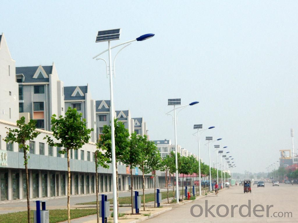 Solar LED Street Lamp AN-SLC-30W